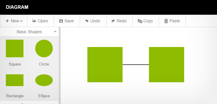 Html5 and javascript widgets integrated with angularjs kendo ui demos sample diagram tool ccuart